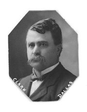Nile Kinnick's grandfather, Gov. George W. Clarke