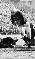 Nile Kinnick's touchdown run against Notre Dame