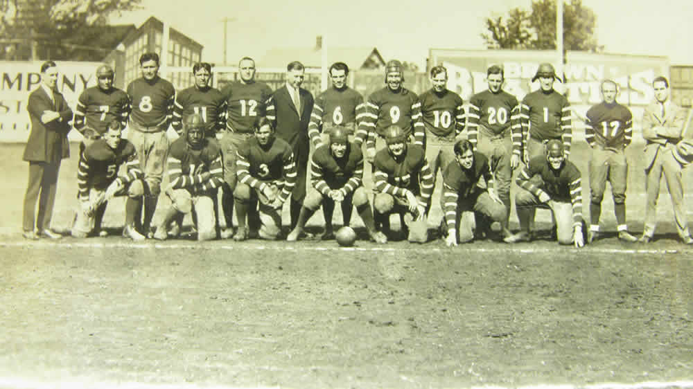 Duke Slater - 1924 Rock Island Independents team photo