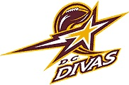 DC Divas Logo - women's football league